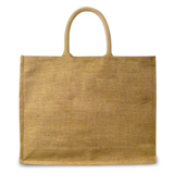 Mace bag made from Jute with comfort hold handle